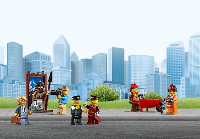 PRESSURE LEGO poppetjes